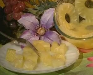 Консервированный ананас кольцами