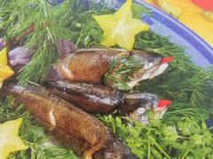 Рыба мелкая, запеченная в духовке