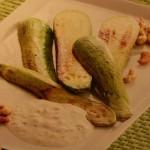 Соус сливочный с орехами к кабачкам