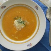 Суп из тыквы