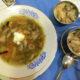 Суп з грибами и жюльен