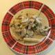Шампиньоны в сметане с картофелем