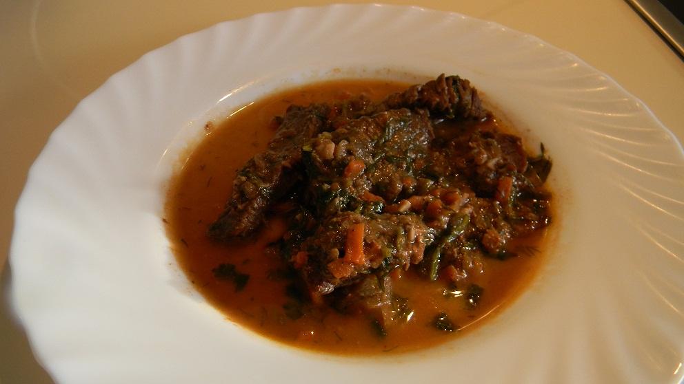 Мясо с черносливом тушеное в мультиварке рецепт пошагово в