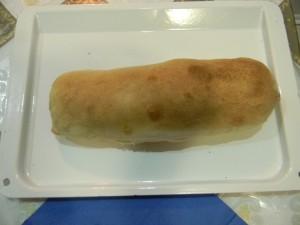 Мясо запеченное в тесте готовое