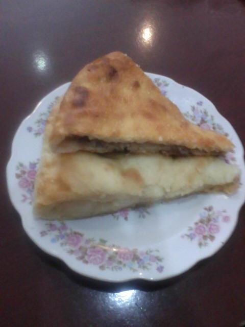 Осетинские пироги с мясом и картошкой