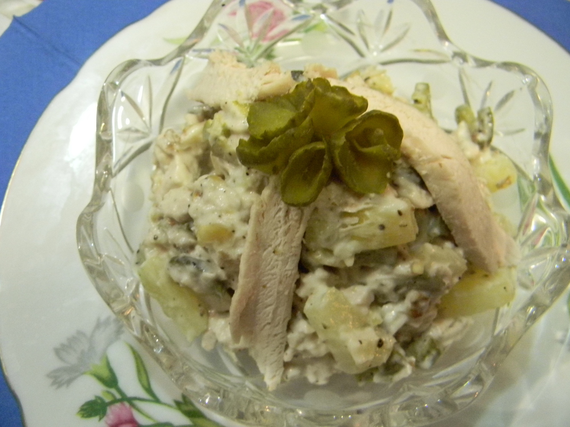 рецепт салата курица с чесноком и ананасом рецепт