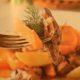 Рагу из куриных потрошков