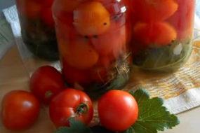 Фондю с консервированными помидорами
