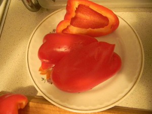 Болгарский красный перец