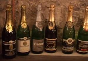 Шампанские с маркой Абрау-Дюрсо