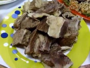 Вареное мясо говядины