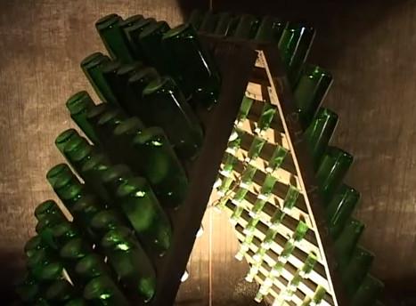 Выдержка шампанских на стеллажах