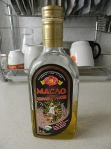 Кунжутное масло на кухне