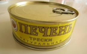 Печень трески консерва