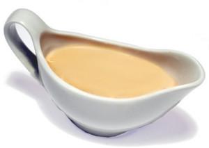 Сырный соус на сливках