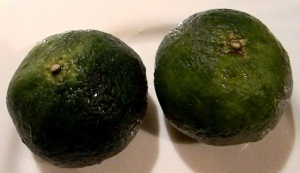 Зеленые абхазские мандарины