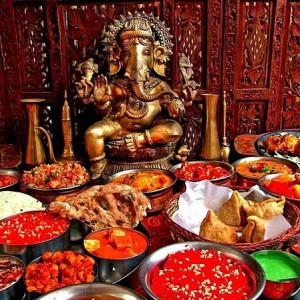 Национальные блюда индийской кухни фото