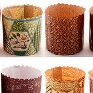 Формы из бумаги для выпечки куличей