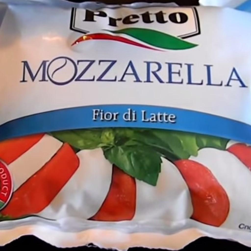 Мягкий сыр моцарелла