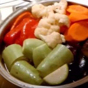 Как готовить овощи на пару в ВОКе
