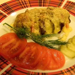 Картошка с сыром в микроволновке быстро