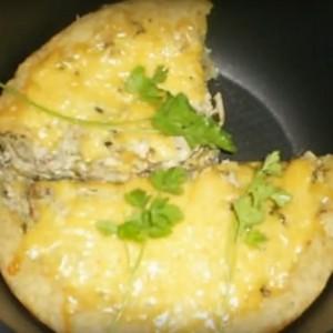Жульен из грибов с курицей в мультиварке