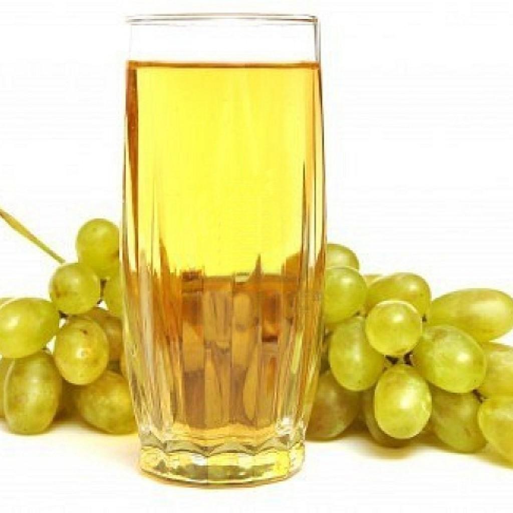 Виноградный сок из белого винограда