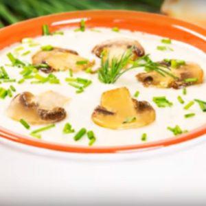 Грибной суп пюре из шампиньонов рецепт с фото