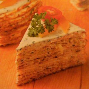 Кабачковый торт вкусный рецепт с фото