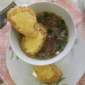 Лёгкий луковый суп по французски рецепт с фото