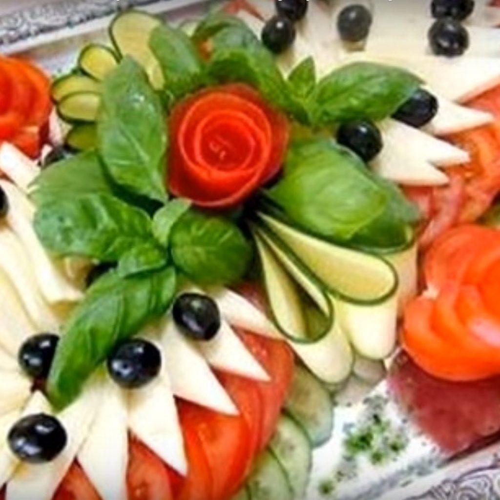 Рецепты из фруктов на праздничный стол рецепты простые