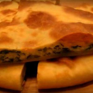 Адыгейский пирог с сыром рецепт с зеленью
