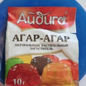 Агар агар в упаковке