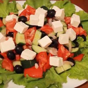 Салат греческий рецепт классический с фото очень вкусный
