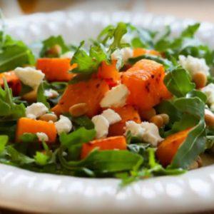 Простые рецепты салатов из тыквы вкусные и простые