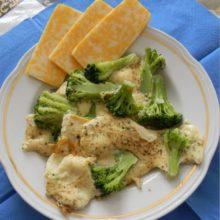 Омлет с брокколи