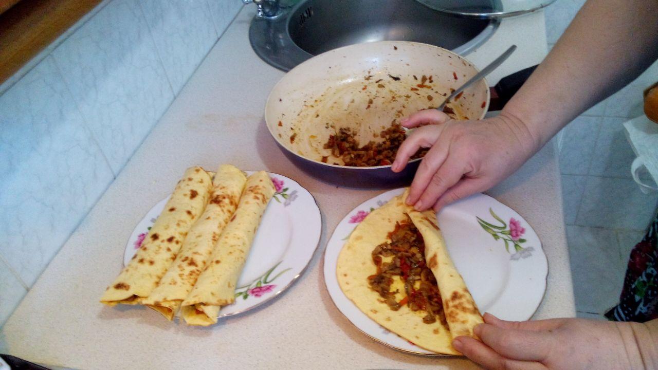 Тортилья начинка с фото