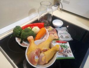 Как приготовить курицу в банке ингредиенты