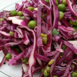 Вкусный салат из фиолетовой капусты рецепты с фото