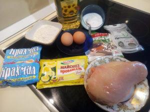 Готовим курицу в кляре с майонезом