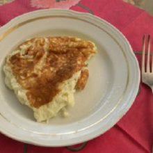 Пышный омлет на сковороде