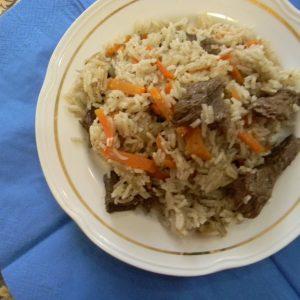 Рассыпчатый плов с говядиной рецепт с фото пошагово