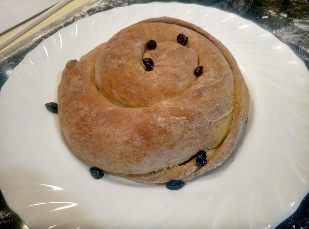 Слоеный хлеб по кабардински с фото рецепт с барбарисом