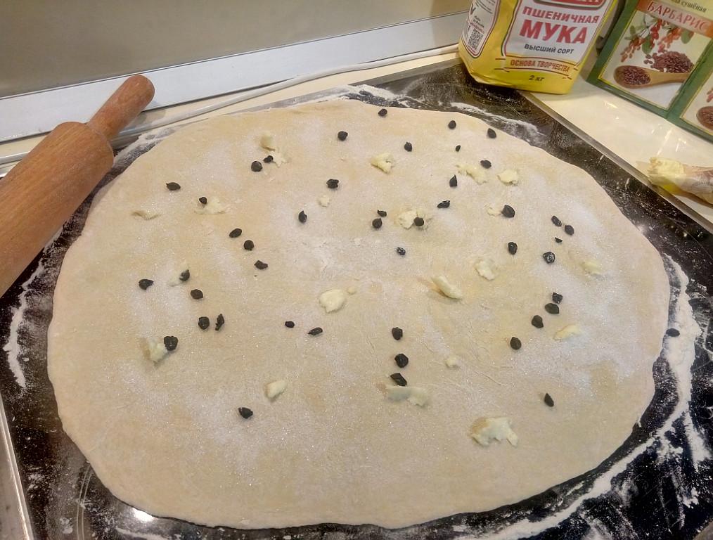 Слоеный хлеб рецепт с фото по кабардински