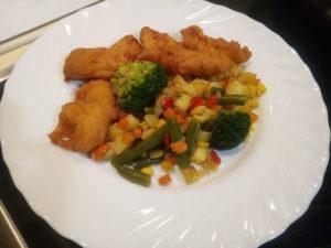 Курица в кляре рецепт с овощами и кукурузой