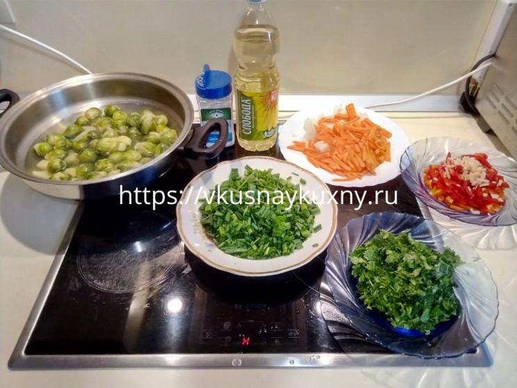 Суп с брюссельской капустой рецепт постный и вкусный