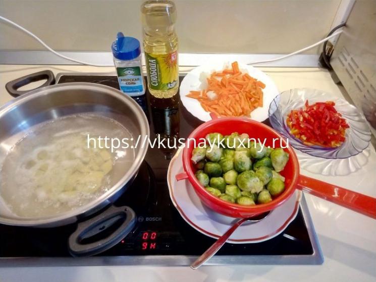 Суп с брюссельской капустой рецепт вкусный