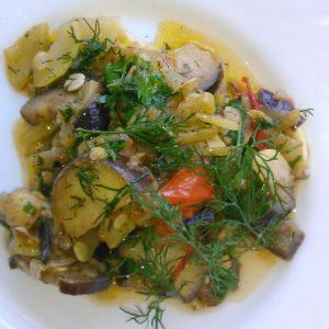 Как готовить овощное рагу с кабачками и баклажанами