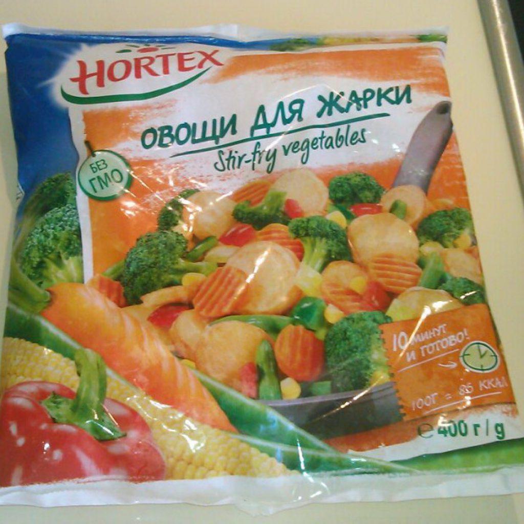 Овощи для жарки замороженные