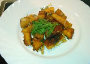 Как готовить тыкву с чесноком